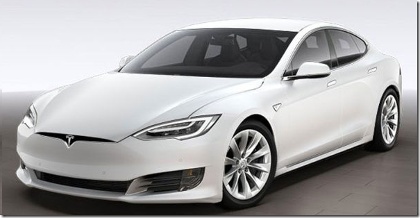 Tesla Model S photo (white)